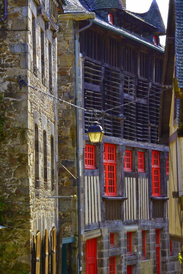Arquitetura de Dinan na França