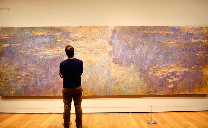 Pintura de Monet que está no MoMA de NY