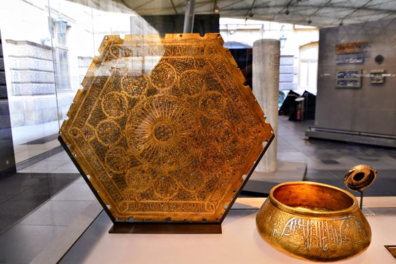 arte islâmica no Louvre de Paris