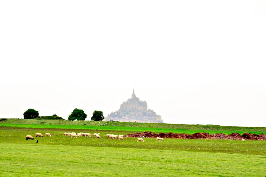 Le Mont Saint Michel, Haute Normandie, France - Alta Normandia, França