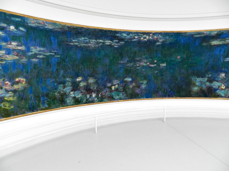 Obras de Monet no Orangerie em Paris