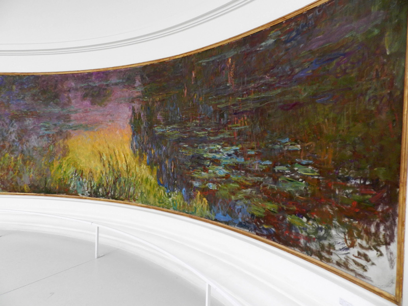 Quadro de Monet no Orangerie de Paris