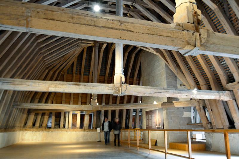 estrutura do teto interior do Château Azay le Rideau Viagem para PAYS DE LA LOIRE e CENTRE NA FRANÇA