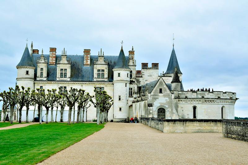 Château d'Amboise Viagem para PAYS DE LA LOIRE e CENTRE NA FRANÇA