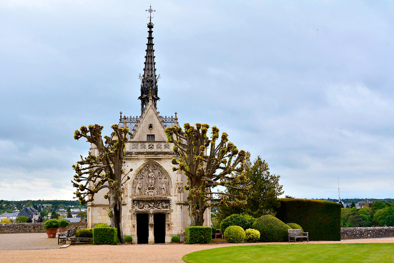capela do Château d'Amboise Viagem para PAYS DE LA LOIRE e CENTRE NA FRANÇA