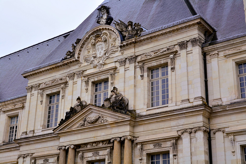 Château de Blois em Centre na França