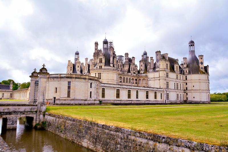 Château de Chambord no Centre na França