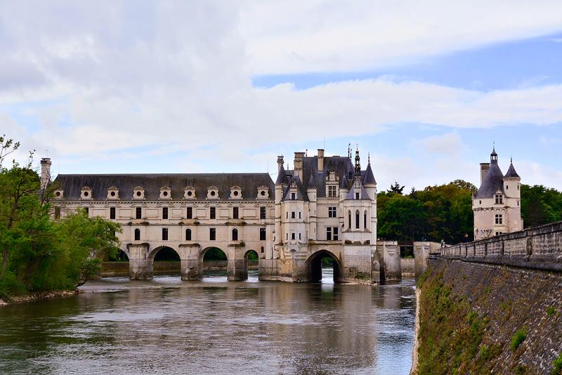 Château de Chenonceau no Centre da França