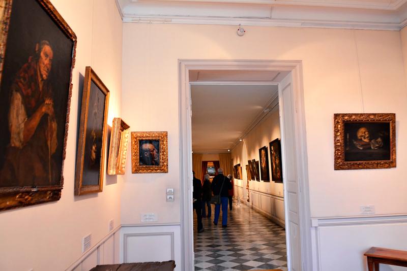 interior do Château de Villandry no Centre na França