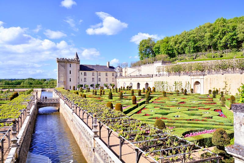Château de Villandry no Centre na França