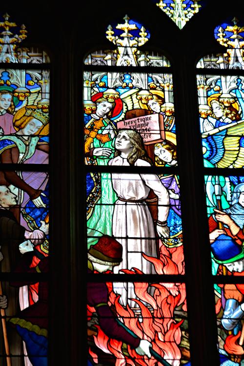 Jeanne D'Arc, Cathédrale Sainte-Croix d'Orléans, France, França
