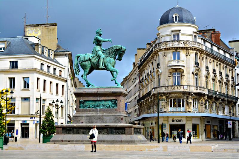 Jeanne D'Arc, Órleans, France, França