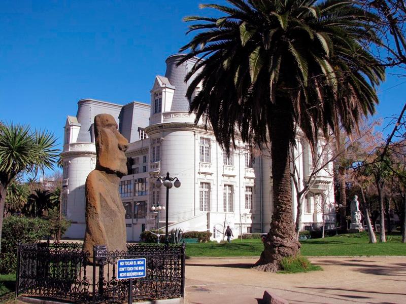 Palacio Carrasco em Viña del Mar no chile
