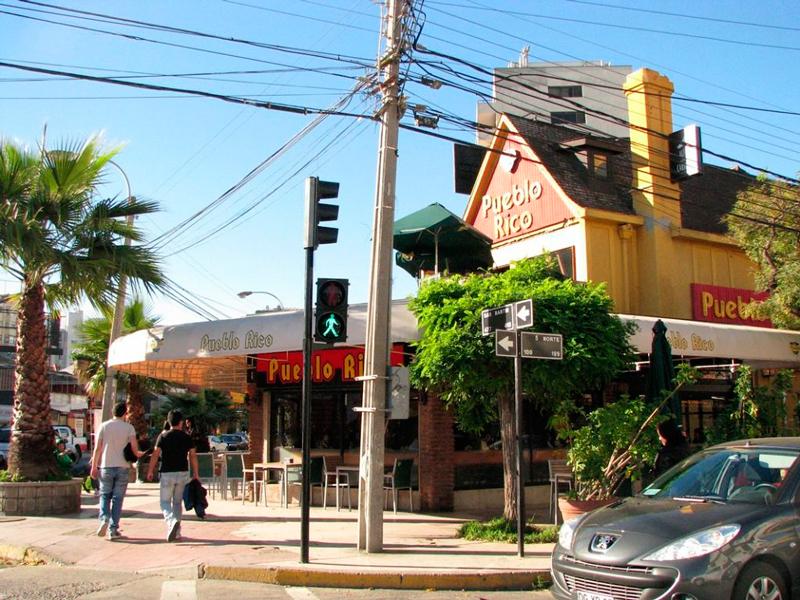 Restaurante Pueblo Rico em Viña del Mar no chile