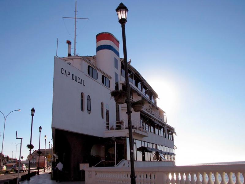 Hotel e Restaurante Cap Ducal em Viña del Mar no chile