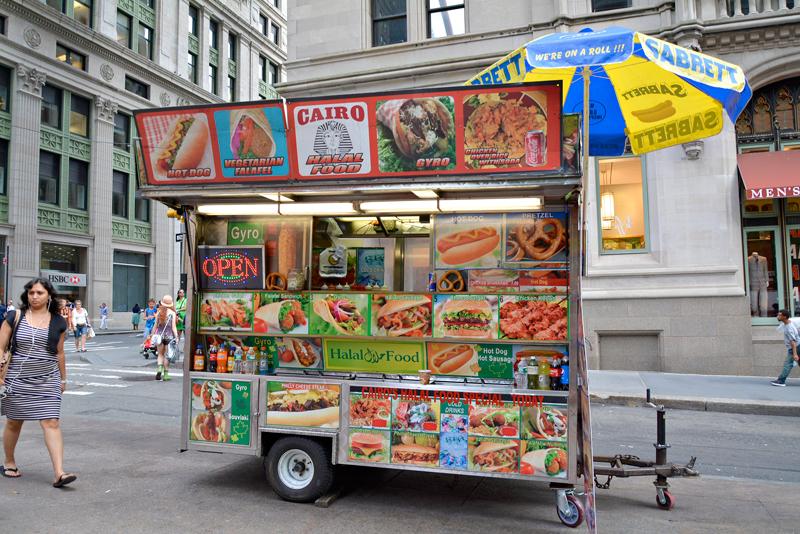 Comida de rua, New York