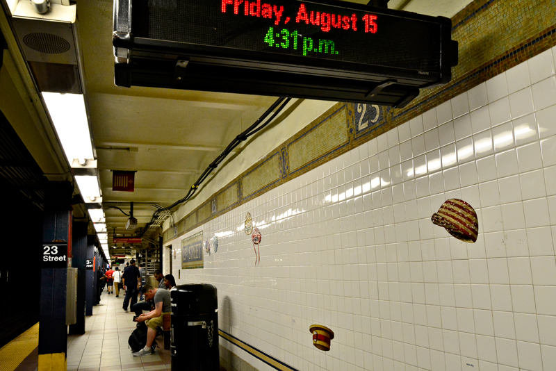 subway, New York