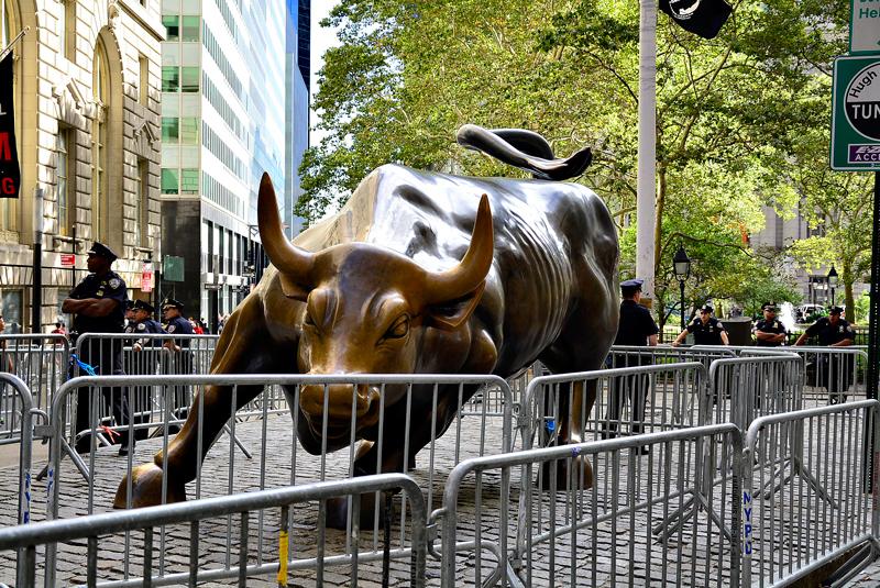 The Chargin Bull em New York, USA