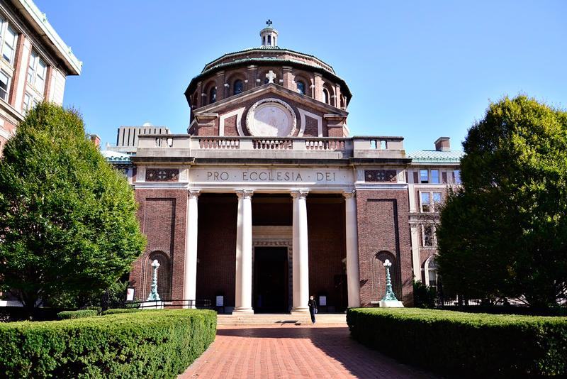 capela da Columbia University em New York