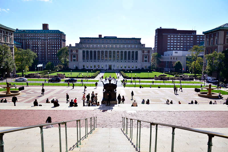 Butler Library da Columbia University em New York