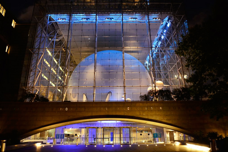 Hayden Planetarium em New York