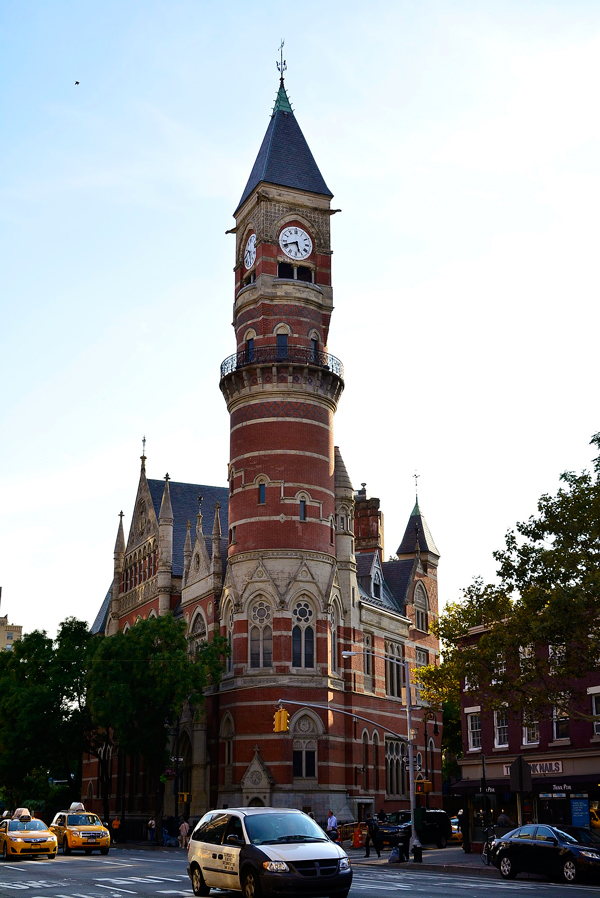 Jefferson Market Courhouse Library em New York