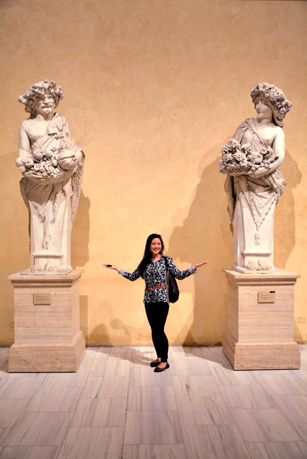 esculturas do MET - Metropolitan Museum de New York