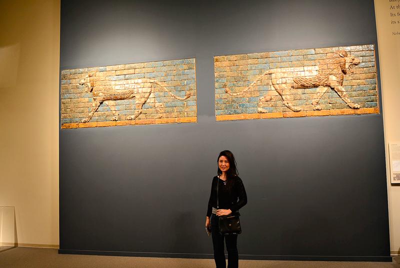 Murais da Babilônia no MET - Metropolitan Museum de New York