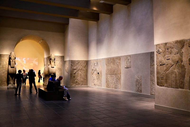 Arte assíria no MET - Metropolitan Museum de New York