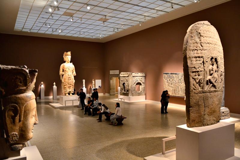 arte asiática no MET - Metropolitan Museum de New York
