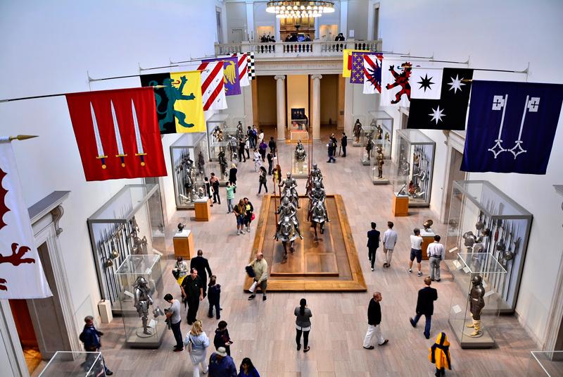 armaduras no MET - Metropolitan Museum de New York