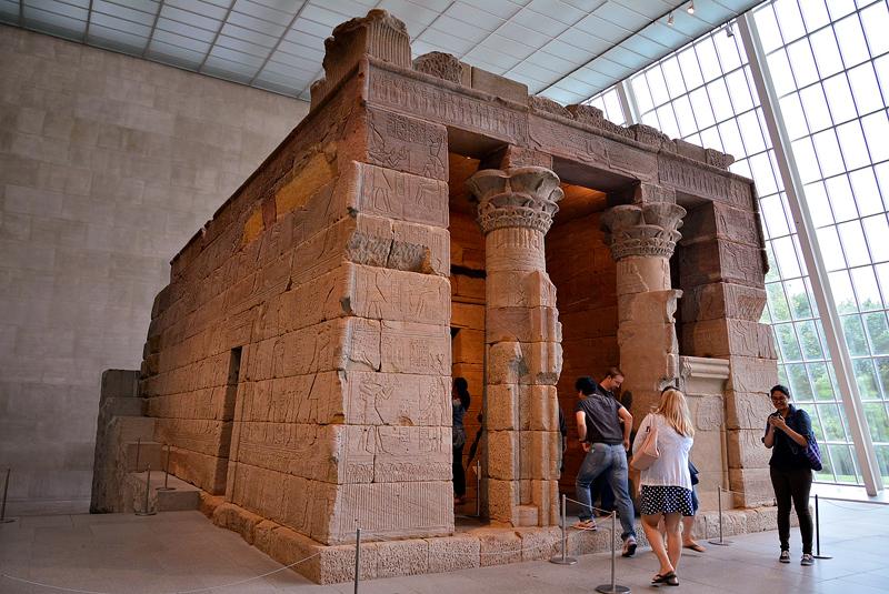 Templo Egípcio de Dendur no MET - Metropolitan Museum de New York