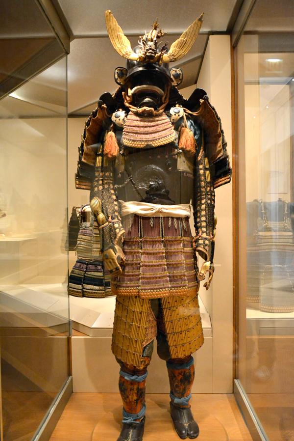 armadura samurai no MET - Metropolitan Museum de New York