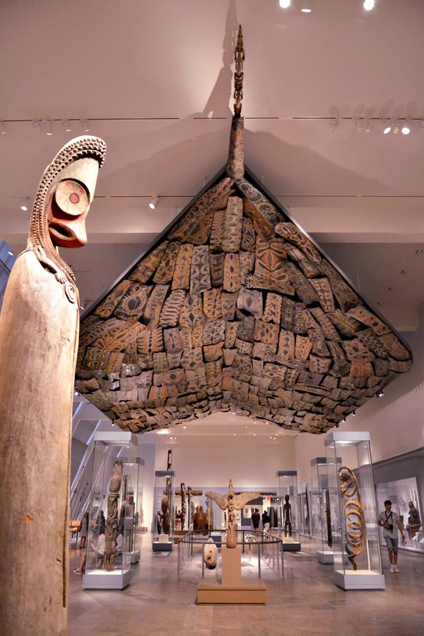 arte da oceania no MET - Metropolitan Museum de New York
