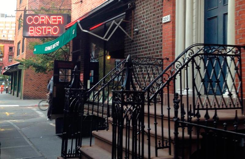 Corner Bristo em New York