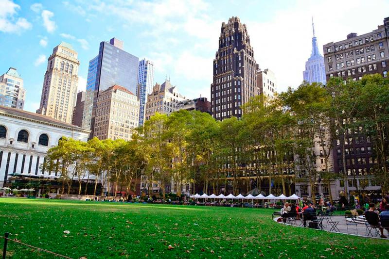 Bryant Park em new york