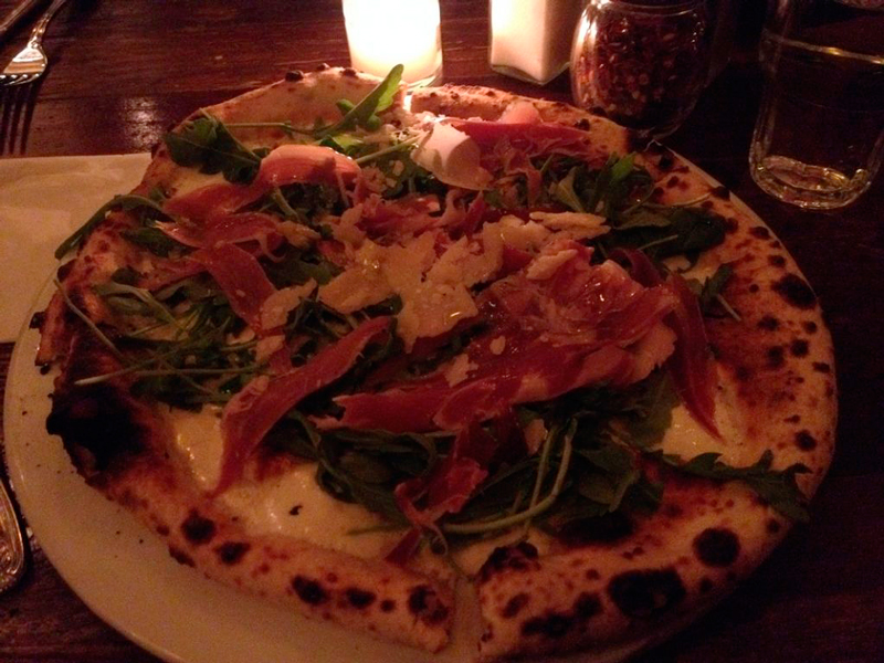 pizza da Fornino em new york