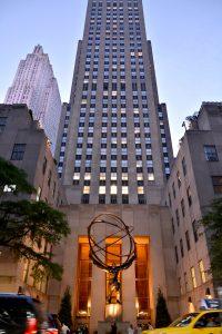 Rockefeller Center: top of the rock, New York