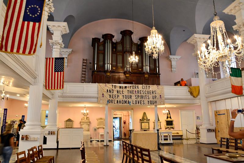 Saint Paul's Chapel de New York