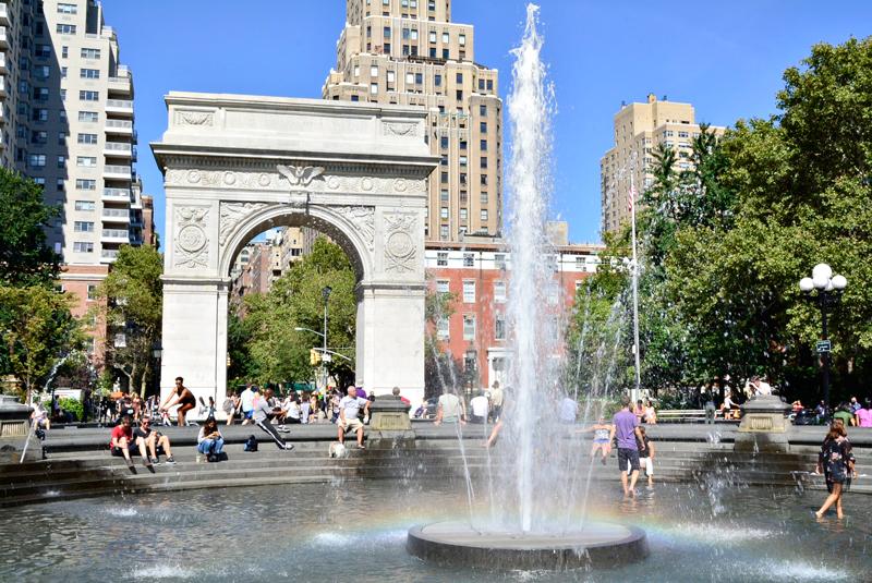 Washington Square Garden em Nova Iorque