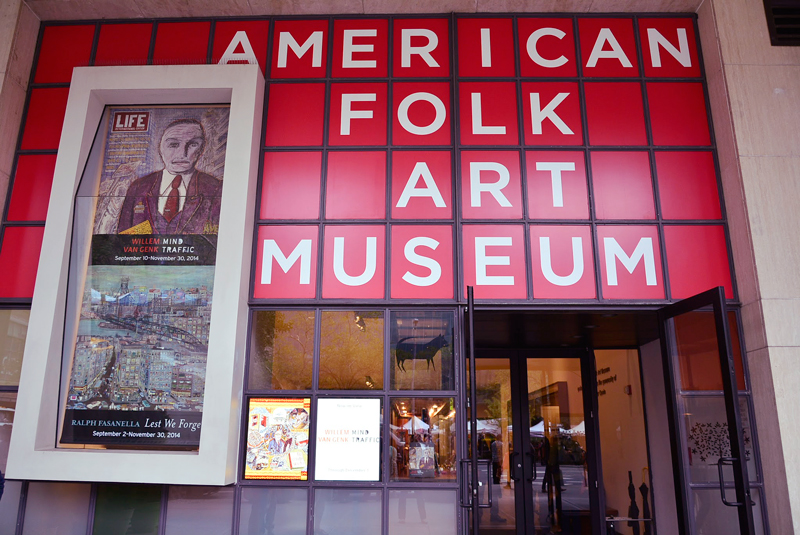 American Folk Art Museum em new york