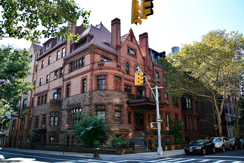 casa do Brooklyn Heights em New York