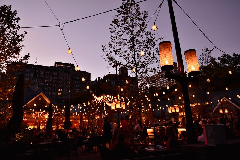 Restaurante Tavern On The Green no central park de new york