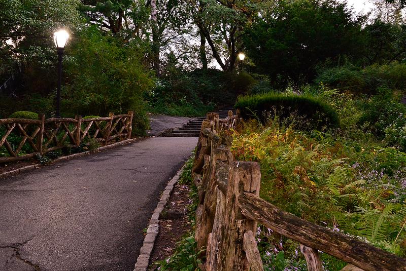 central park em new york começo do outono