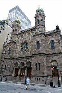 Central Synagogue, Upper East Side, Manhattan, New York, NYC, USA, EUA