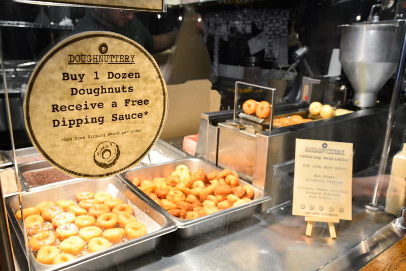 donuts do Chelsea Market em New York