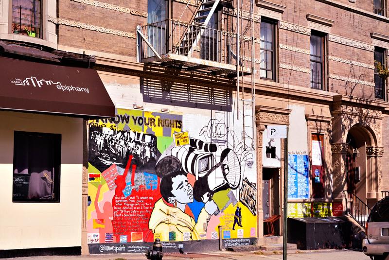 grafitti no harlem em new york