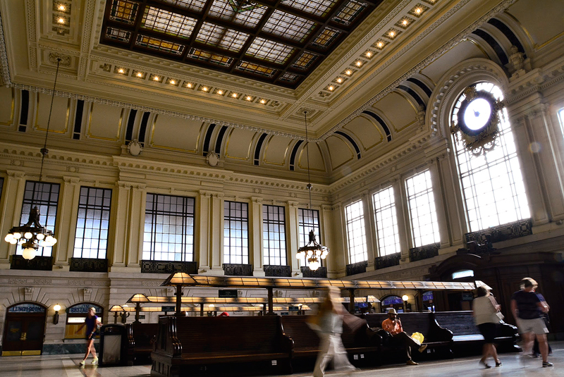 Lakawanna Station em Hoboken New Jersey