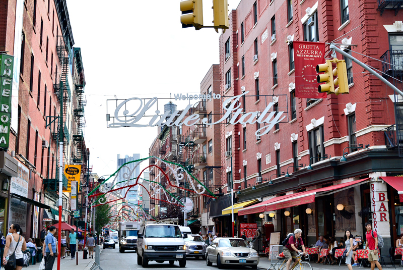 Little Italy de New York, USA