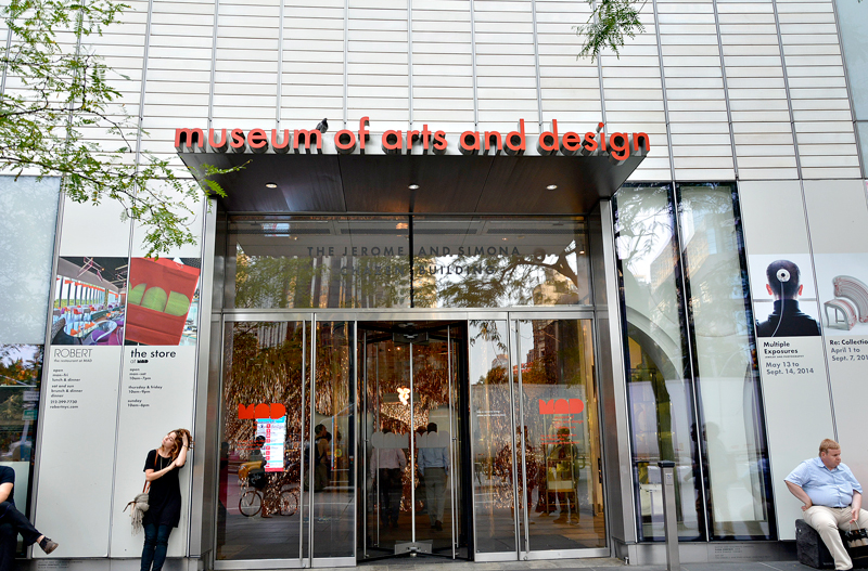 Nova Iorque, MAD, Museum of Art & Design, Theater District, Manhattan, New York, NYC, USA, EUA